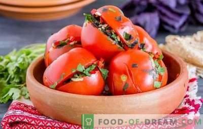 Tomate armean: roșii condimentate și picante. Cele mai bune rețete tradiționale de roșii în stil armean