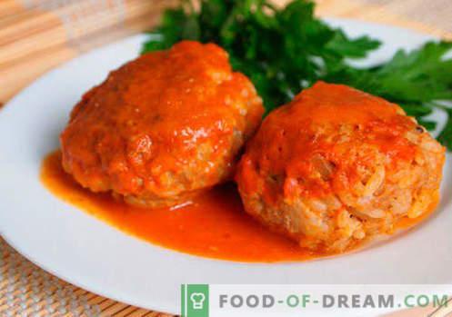 Cuisoare cu orez - retete dovedite. Cum să gătești în mod corect și gustos carnea cu orez.