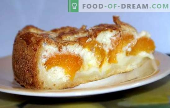 Yeast and apricot pie will give odds to any cake. Recipes for open and closed yeast pies with apricots