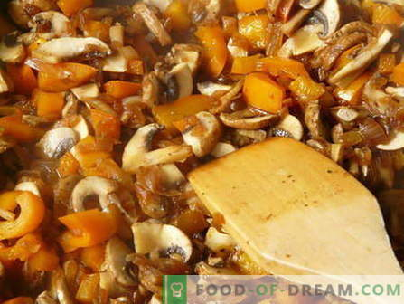 Ciuperci ciupite - cele mai bune rețete. Cum să gătești ciuperci ciupite și gustoase.