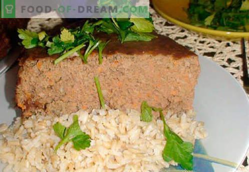 Souffle de ficat - cele mai bune rețete. Cum să gătești rapid și gustos sufla din ficat.