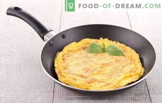 Omelet clasic - mic dejun francez. Cum să gătești o omelet clasic: rețete simple și gustoase