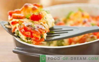 Castravetele cu dovlecei și tomate sunt un fel de mâncare ușoară și de umplere pentru cină. Cele mai interesante rețete castraveți dovlecei și roșii