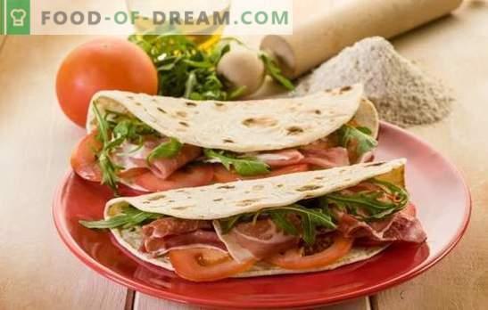 Deschideți Shawarma - Un fast-food sănătos în bucătărie. Rețete deschise shawarma în pita pita, pâine sau tortilla mexican