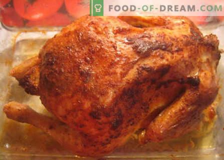 Pui în cuptorul cu microunde - cele mai bune rețete. Cum să procedați corect și să gătiți carnea de găină în cuptorul cu microunde.