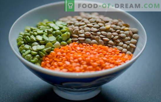 Cum să gătești linte roșu, verde, maro, negru. Moduri simple de gătit linte într-o tigaie și un aragaz lent: secrete și trucuri