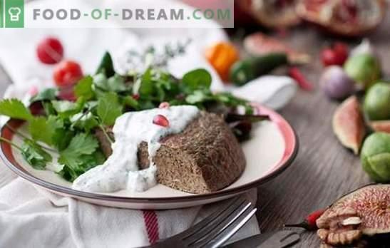 Souffle de ficat de pui - fel de mâncare dietetică? Fierbinte de ficat cu coajă de ficat și coapte