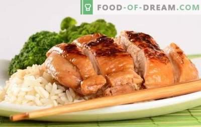 Fileul de pui din sos de soia este marinada perfectă pentru carnea de pasăre. Variante de fileu de pui în sos de soia într-o tava, tigaie și cuptor