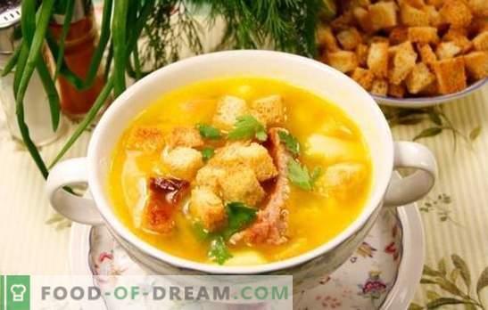 Supă de pui afumată: gustul este uimitor și aroma va fi amintită pentru totdeauna! Cum să gătești supe cu pui afumat?