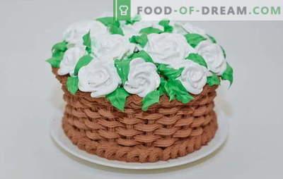 Variante de uleiuri, cremă și cremă de creme de tort la domiciliu. Gătiți rapid și simplu cremă pentru prăjituri de casă