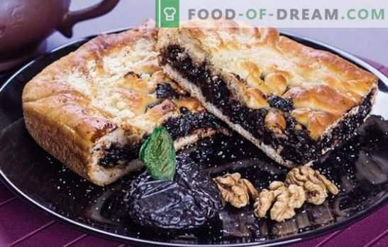 Dulceața de tartă - plăcintă de casă cu prune. Cele mai bune retete pentru prune prune simple si neobisnuite: dulce si carne