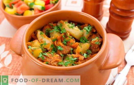 Vase de carne prăjită cu carne și cartofi - este prima sau a doua? Retete pentru fripturi de casa cu carne si cartofi pentru mese inimioare