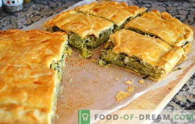 O plăcintă cu varză în grabă - atât de repede! Rețete pentru plăcinte cu grătar din grătar, făcute din aspic, puf, aluat de pâine
