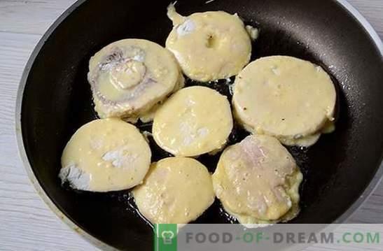 Ciuperci de ciuperci: o rețetă foto pas cu pas. Gatit delicioase felii de șampanie delicioase - diversificați mesele de familie!