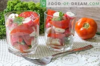 Gustări instant de tomate în 15 minute - frumusețea, gustul și beneficiile legumelor de vară