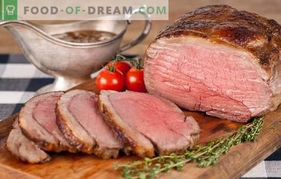 Carne de vită carne de vită - pentru britanici și nu numai! Rețete noi și clasice de carne de vită în diferite marinate, cu ciuperci, legume