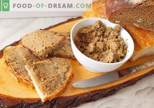 Pateu de gâscă - cele mai bune rețete. Cum să gătești în mod corespunzător și gustos pateul de gâscă.