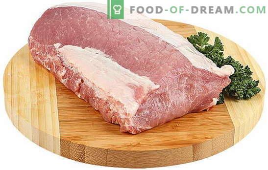 Cum să gătești ca carnea de porc să fie moale - cele mai bune rețete și observații culinare. Nuanțele de gătit de porc