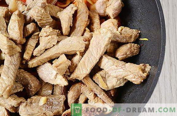 Wie wird zu Hause Fleisch auf Thai zubereitet? Viel einfacher als es scheint