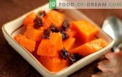 Dovleac cu prune - o mare de gust și beneficii! Rețete pentru preparate din dovleac, prăjit și prăjit și prune