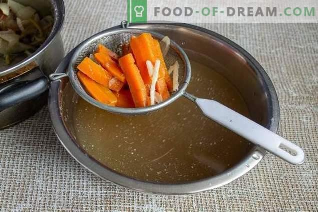 Supa de varza simpla de varza timpurie