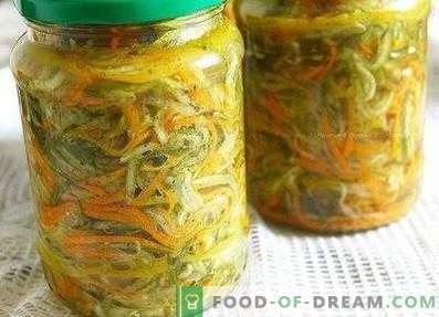 Salată de castraveți și morcovi pentru iarnă