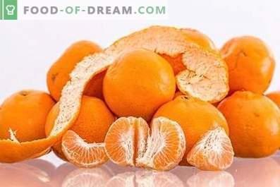 Mandarine: beneficii pentru sănătate și daune