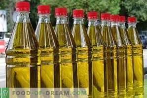 Cum se păstrează uleiul de floarea-soarelui