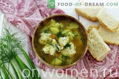Supa cu Galushki