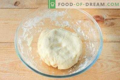 Dough for dumplings with potatoes
