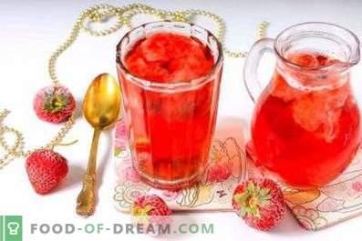 Compotă din căpșuni congelate