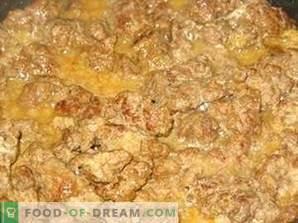 Foie de boeuf cuit à la crème sure