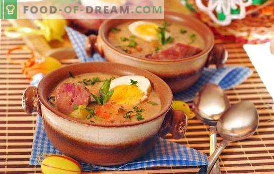 Supa afumată de cârnați este o masă rapidă de primă curs. Cele mai bune retete dovedite pentru supele afumate