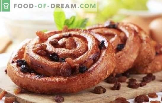 Coacerea cu stafide este un clasic atemporal. Rețete de coacere cu stafide: prăjituri, plăcinte, brânzeturi, brioșe și chifle