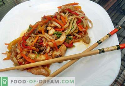 Fidea Udon este cea mai bună rețetă. Cum să gătești în mod corect și gustos taitei udon la domiciliu.